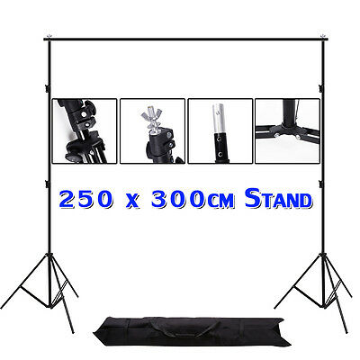 2.5x3M Photo Studio Video Photography Lighting Backdrop Background Support Stand