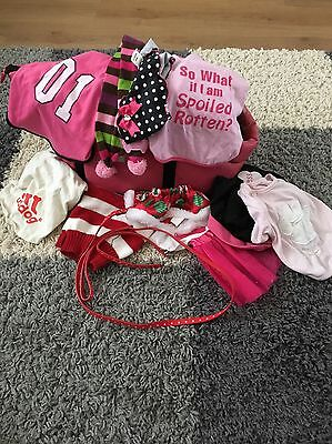 Small Dog Bundle Carry Bag & Outfits (suitable For Pug, Yorkie, Chihuahua?)