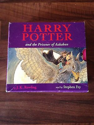 Harry Potter and the Prisoner Of Azkaban Audio CD 10 CD's Read by Stephen Fry