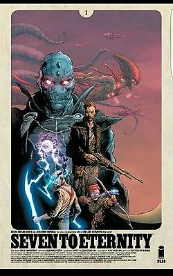 Seven To Eternity #1 - 1st printing Image First printing -New NM -scarce cover A
