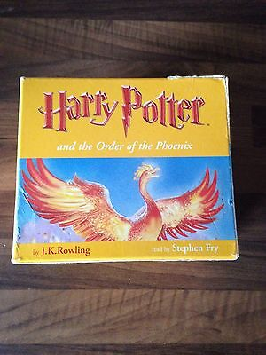 Harry Potter and the Order Of The Phoenix Audio CD 24 CD's Read by Stephen Fry