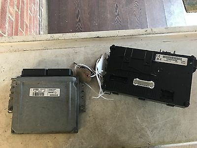 Renault ECU Kit S118301113 8200214973 8200080285 UCH N2  FULLY TESTED