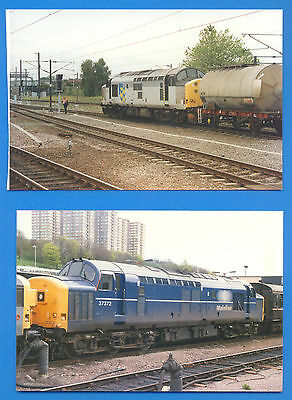 37372 AT UNKNOWN LOCATION & UNIDENTIFIED AT DONCASTER.2 10 x 15cm PHOTOGRAPHS