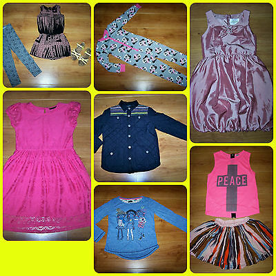 BUNDLE OF GIRLS CLOTHES **10 items** 8 - 9 YEARS incl. Next. River Island