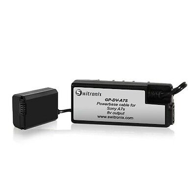 """Adaptateur """" Dummy""""  SWITRONIX Powerbase Cable pour Sony A7s"""