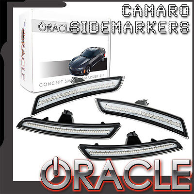 2016-2017 Chevy Camaro ORACLE Concept LED Clear Sidemarker Set 9900-019