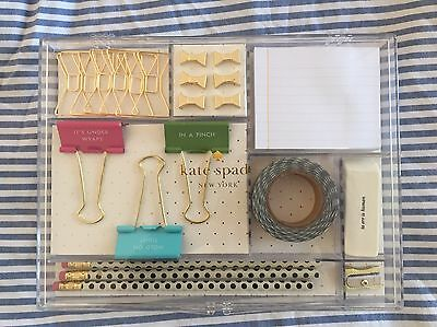 Kate Spade Whistle While You Work Stationary Tackle Box New