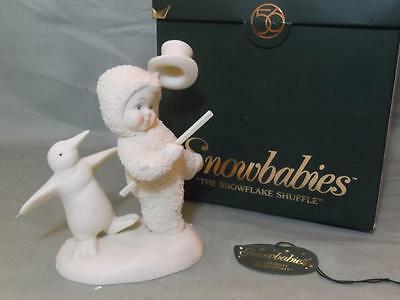 Snowbabies The Snowflake Shuffle Boxed Figurine Dept.56 69173