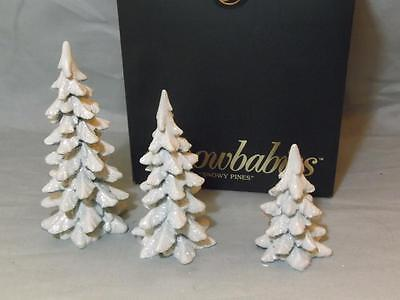 Snowbabies Snowy Pines Boxed Christmas Ornament Dept.56 69046