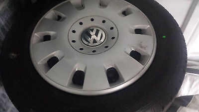 Vw Wheels And Tyres X4