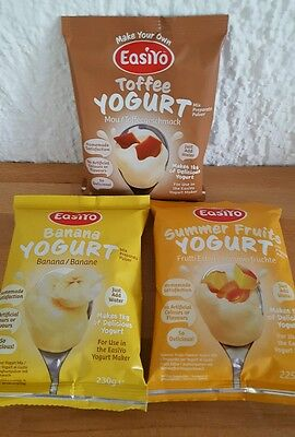 Easiyo Yogurt  Joghurtpulver Kids Selection insg. 3 Kilo Joghurt