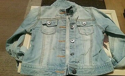 girls next denim jacket Size 5-6