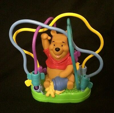 """Disney 1999 Winnie the Pooh Activity Maze Toy for Toddlers, 8""""T, 8""""W"""