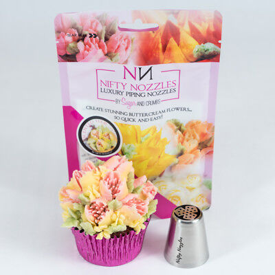 Nifty Nozzles - L - 19 - Scented Tulip - Genuine Russian Piping Tip - 1 Nozzle