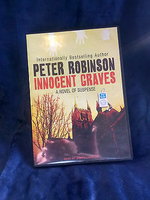 Peter Robinson Audiobook  MP3 CD  - 'Innocent Graves' - DCI Banks Mystery