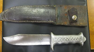 Ww11 Nice Example Of A New Zealand, Or Australian Commando Fighting Knife Signed