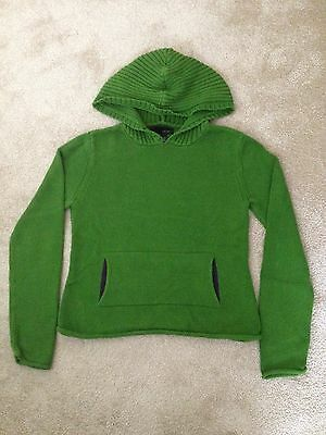Kaisely, £20.00 girls green hoodie, age 13