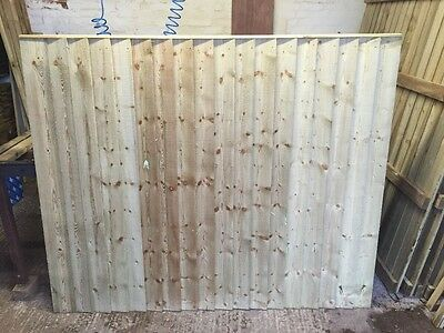 feather edge wooden fence panels pressure treated
