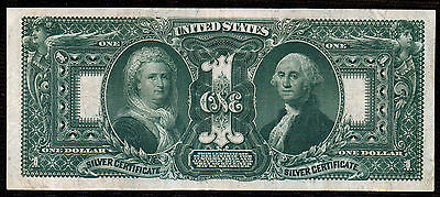 """1896 $1 Silver Certificate VF+-XF """"Educational"""""""