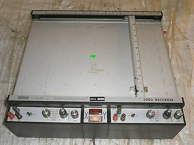 Houston Instruments Omnigraphic 2000 Graph Chart Recorder Plotter