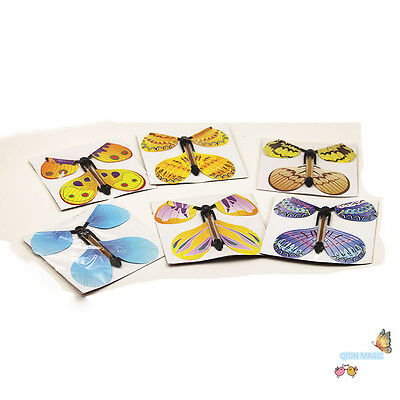 20pcs Magic Flyer Butterfly Lovely Funny Kids Stage Magic Tricks,Kids magic show