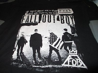 FALL OUT BOY 2015 Boys of Summer Concert Tour T Shirt Large
