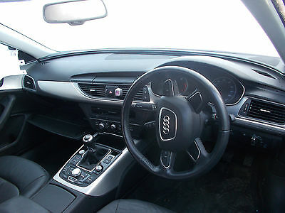 Audi A6 Se 2013 Airbag Kit / Set - Steering Wheel And Dashboard Air Bags