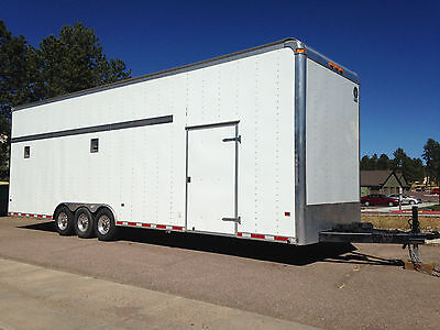 Classic Trailers 36' x 11' x 8.5' Stacker Car Trailer