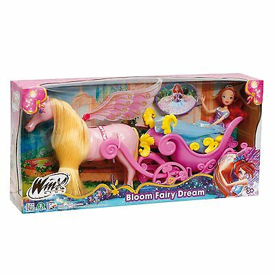 Carrozza Winx Principessa Bloom Fairy Dream Cavallo Fatato