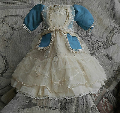 Beautiful antique  dress-jacket for French Bebe