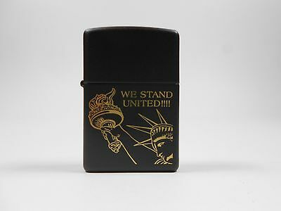 Zippo We Stand United RARE FACTORY SEALED 2001 NEW Statue of Liberty Lighter