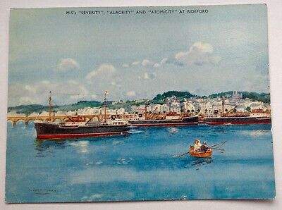 M.S's Severity, Alacrity and Atomicity at Bideford.