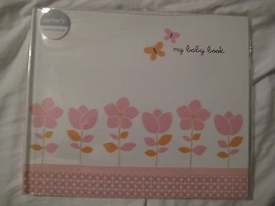 New Carter's First Five Years My Baby Book Blossoms Baby Girl