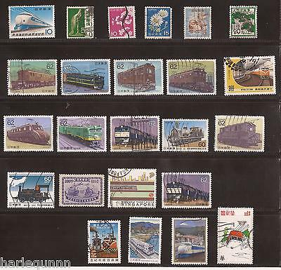 Sheet Of Japan Stamps  Mixed Age And Sorts  Unused Nh To Vf Used Nh  - See Scan