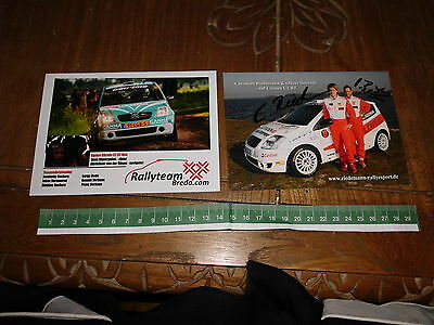 C2 R2 Citroen Rallye Carte Card Rally Motorsport 2X