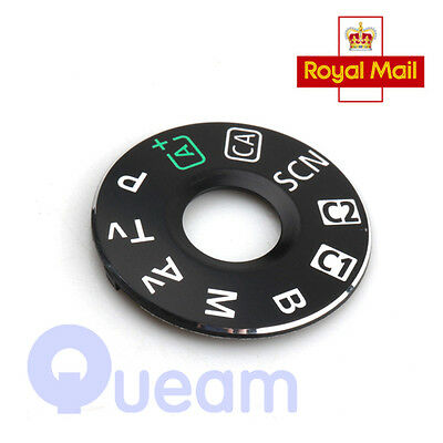 UK Dial Mode Plate Interface Cap Replacement Part For Canon EOS 6D Camera Repair