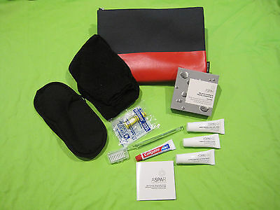 QANTAS BUSINESS CLASS  Mens Amenity Kit by Jack Spade  NEW