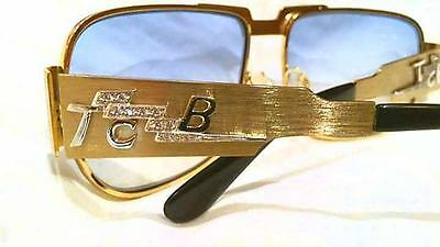 "Elvis Diamond ""on Tour ""sunglasses Tcb By Dennis Roberts"