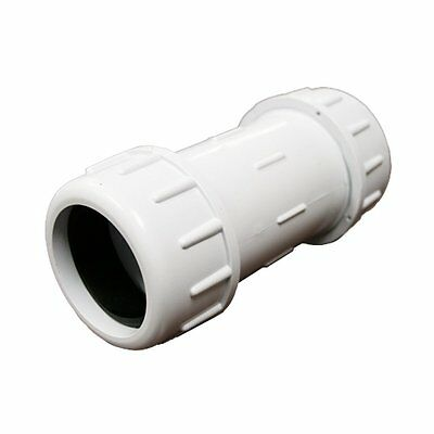 PlumBest C12125R PVC Compression Coupling  1-1/4-Inch IPS Schedule 40