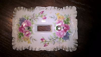 Beautiful Vintage Light Switch Cover