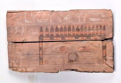 Ancient Egyptian EGYPTIAN WOOD PANEL FROM A SARCOPHAGUS Middle KINGDOM,