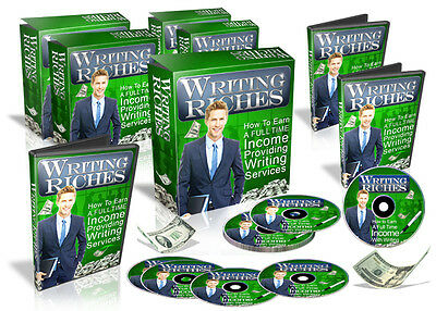 Writing Riches -  6-Part Video Course on CD! Earn Big From Your Writing!