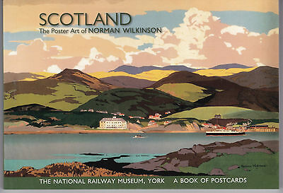 SCOTLAND: The Poster Art of Norman Wilkinson ... A book of 24 color postcards