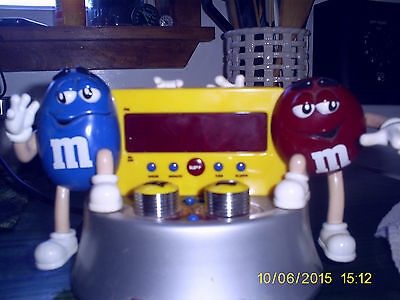 M&M's Clock Radio With the Original Box  official liscensed product