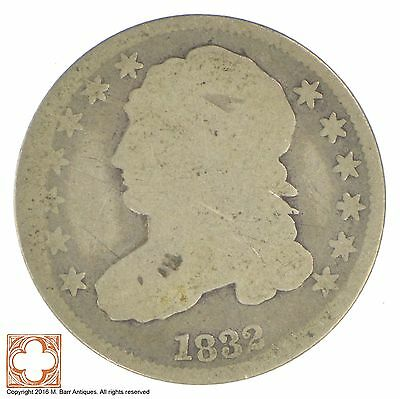 1832 Capped Bust Dime *XB32