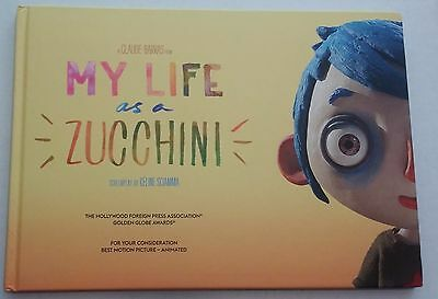 My Life As A Zucchini Press Kit Book Fyc Golden Globes For Your Consideration