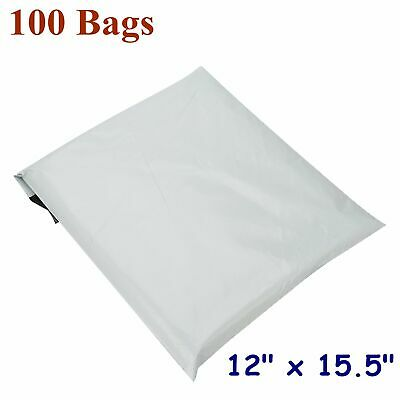 100 12x15.5 Poly Mailers Shipping Envelopes Plastic Self Sealing Bags 2.5 Mils