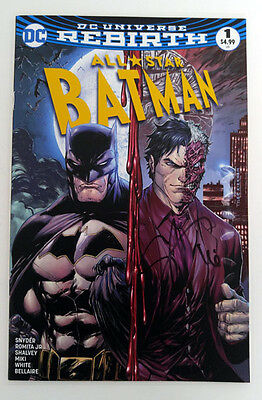 Midtown Exclusive All Star Batman #1 Color Ver Signed by Scott Snyder with COA