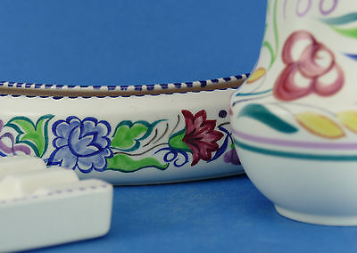 POOLE POTTERY - 3 items - Art Pottery Hand Painted Traditional Pattern