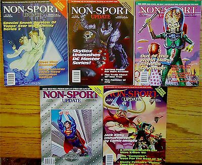 NON-SPORT UPDATE- 5 1994 Issues+5 Pop-Out Price Guides VG+ BestOfferFreeShipping